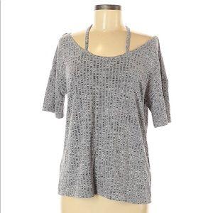 SHEIN Gray Patterned Shirt